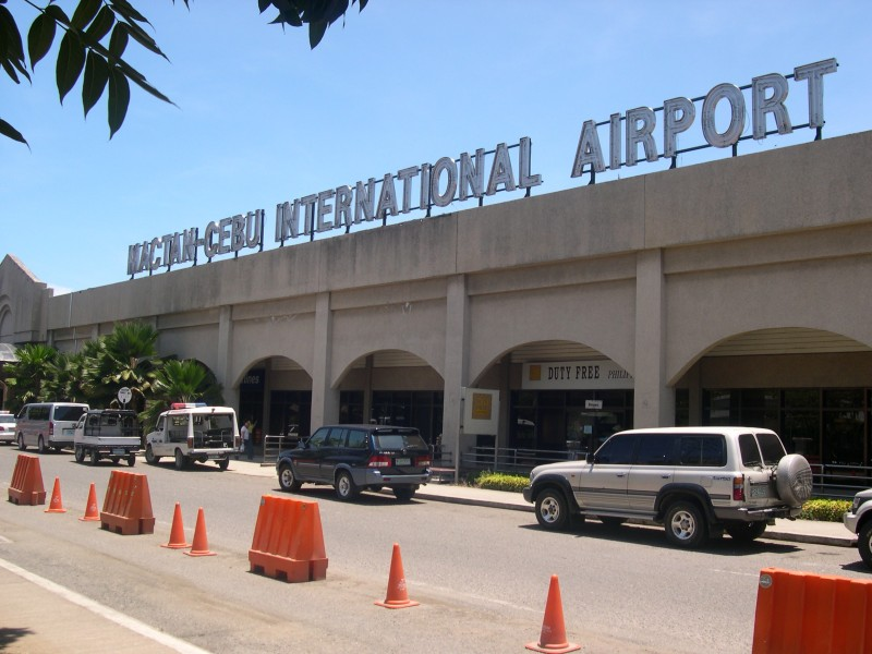 Arriving at Cebu's international airport, you'll discover that English is widely spoken. Image from Wikimedia Commons.