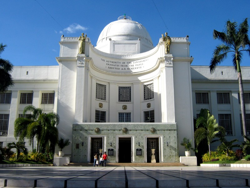Cebu Provincial Capitol. Photo Credits: Mike Gonzalez.