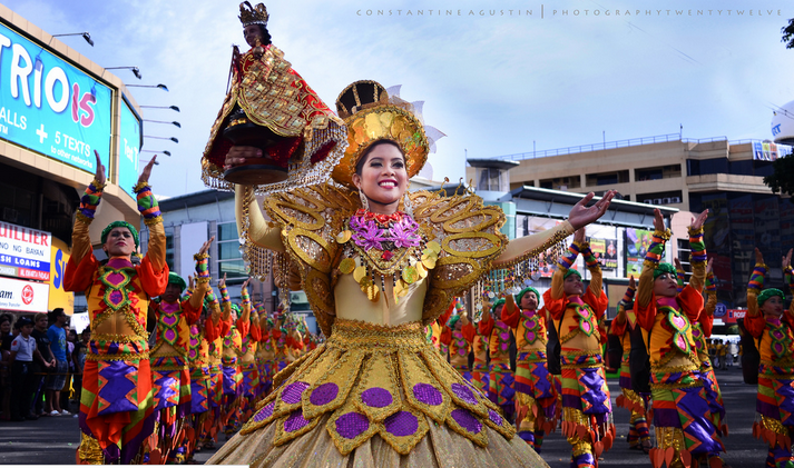Scene from Sinulog Festival 2012. Photo Credits: Constantine Agustin.